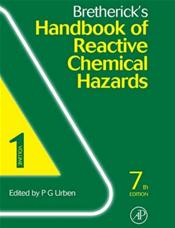 Bretherick's Handbook of Reactive Chemical Hazards. 2 Volume Set
