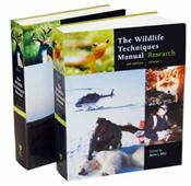 Wildlife Techniques Manual. 2 Volume Set