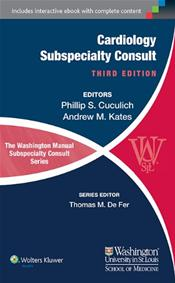Washington Manual Cardiology Subspecialty Consult Image