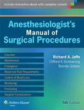 Anesthesiologists Manual of Surgical Procedures. Text with Access Code Cover Image
