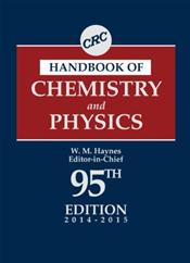 CRC Handbook of Chemistry and Physics: A Ready-Reference Book of Chemical and Physical Data