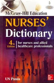McGraw-Hill Education Nurses Dictionary: For Nurses and Allied Healthcare Professionals Image