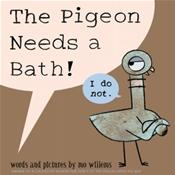Pigeon Needs a Bath!