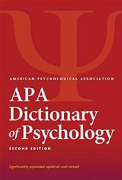 APA Dictionary of Psychology. Significantly Expanded, Updated, and Revised Cover Image