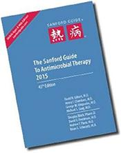 Sanford Guide to Antimicrobial Therapy 2015 Image