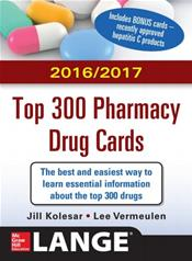 2016-2017 Top 300 Pharmacy Drug Cards Cover Image