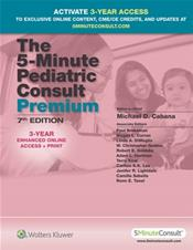 5-Minute Pediatric Consult Premium. Text with Access Code (5MinuteConsult Edition) Cover Image