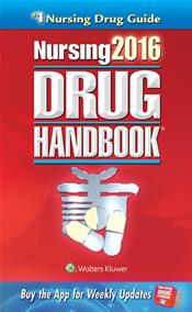 Nursing Drug Handbook 2016