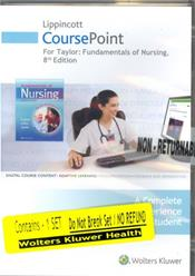 Lippincott Coursepoint for Taylor's Fundamentals of Nursing. Access Code