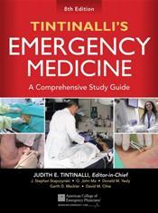 Tintinallis Emergency Medicine: A Comprehensive Study Guide Cover Image