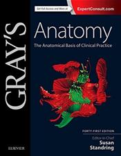 Grays Anatomy: The Anatomical Basis of Clinical Practice. Text with Access Code (Expert Consult) Cover Image