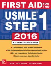 First Aid for the USMLE Step 1: 2016. Access Code for First Aid Flash Facts for 2 Months Free Trial