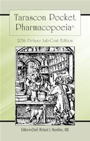 Tarascon Pocket Pharmacopoeia 2016. Deluxe Lab-Coat Pocket Edition
