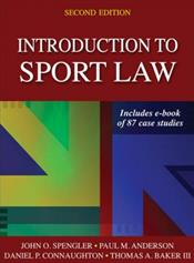 Introduction to Sport Law. Text with Access Code Image