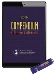 Compendium of Selected Publications 2016 on Flashdrive Cover Image