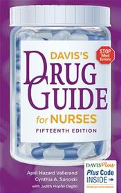 Davis Drug Guide for Nurses. Text with Access Code Image