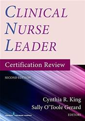 Clinical Nurse Leader: Certification Review Cover Image
