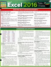 Microsoft Excel 2016: Tips & Tricks Laminated Reference Chart