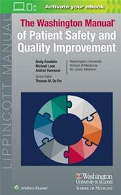Washington Manual of Patient Safety and Quality Improvement. Text with Access Code Image