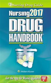 Nursing Drug Handbook 2017. Text with Access Code