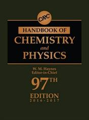 CRC Handbook of Chemistry and Physics: A Ready-Reference Book of Chemical and Physical Data. Text with Access Code