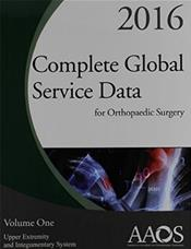 Complete Global Service Data for Orthopaedic Surgery 2016. 2 Volume Set Cover Image