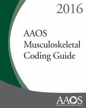 AAOS Musculoskeletal Coding Guide 2016 Cover Image