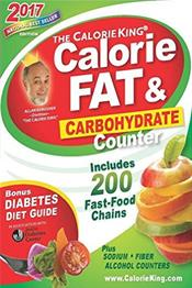 Calorie King: Calorie, Fat and Carbohydrate Counter 2017
