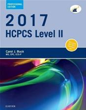 HCPCS 2017: Level II Professional Edition. Cover Image