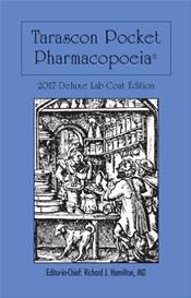 Tarascon Pocket Pharmacopoeia 2017. Deluxe Lab-Coat Pocket Edition