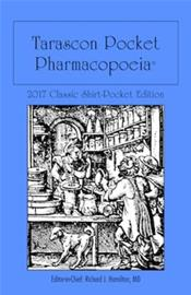 Tarascon Pocket Pharmacopoeia. Classic Shirt Pocket Edition 2017