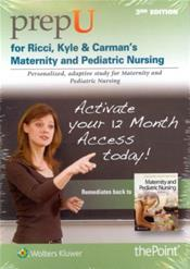 PrepU for Ricci & Kyles Maternity and Pediatric Nursing. Access Code for 12-Month Access Cover Image