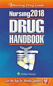 Nursing Drug Handbook 2018. Text with Access Code