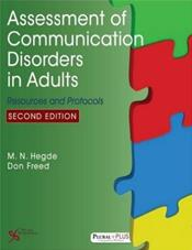 Assessment of Communication Disorders in Adults: Resources and Protocols Cover Image