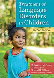 Treatment of Language Disorders in Children. Text with DVD