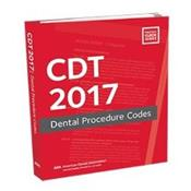 CDT 2017 Dental Procedure Codes.