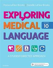 Exploring Medical Language: A Student-Directed Approach. Text with Flashcards