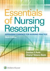 Essentials of Nursing Research: Appraising Evidence for Nursing Practice. Text with Access Code