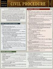 Civil Procedure Laminated Reference Chart