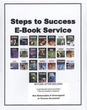 Steps to Success: e-Book Service 2017. Access Code
