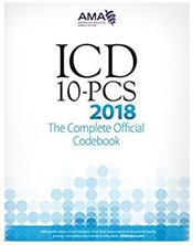 ICD-10-PCS 2018: The Complete Official Codebook Cover Image