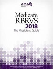 Medicare RBRVS 2018: The Physicians Guide Cover Image