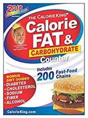 Calorie King: Calorie, Fat and Carbohydrate Counter 2018