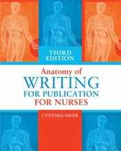 Anatomy of Writing for Publication for Nurses Cover Image