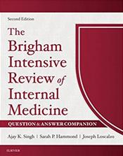 Brigham Intensive Review of Internal Medicine: Question & Answer Companion. Text with Access Code Cover Image