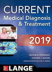 Current Medical Diagnosis and Treatment 2019 Cover Image