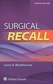 Surgical Recall. Text with Access Code. Cover Image