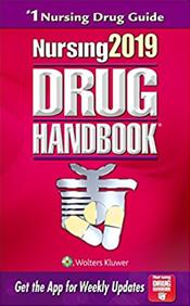 Nursing Drug Handbook 2019. Text with Access Code Cover Image