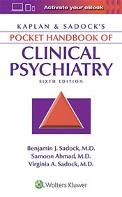Kaplan and Sadocks Pocket Handbook of Clinical Psychiatry Cover Image