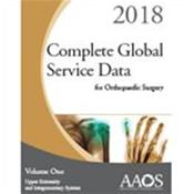 Complete Global Service Data for Orthopaedic Surgery 2018. 2 Volume Set Cover Image